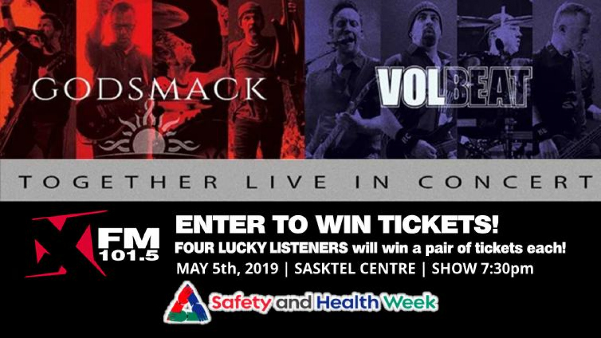Win Godsmack/Volbeat Tickets | XFM